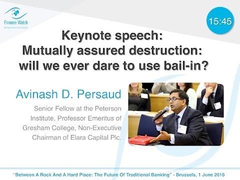 The future of traditional banking: Keynote speech by Avinash D. Persaud