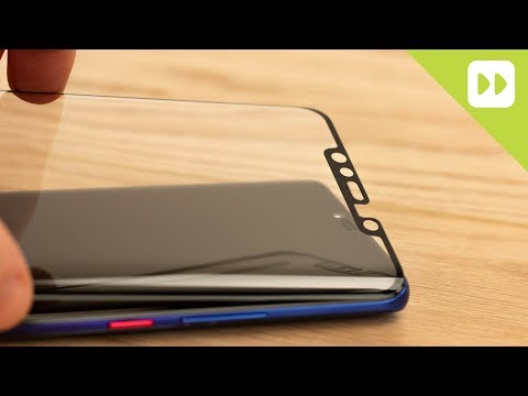 Olixar Huawei Mate 20 Pro Full Cover Glass Screen Protector Installation Guide & Review
