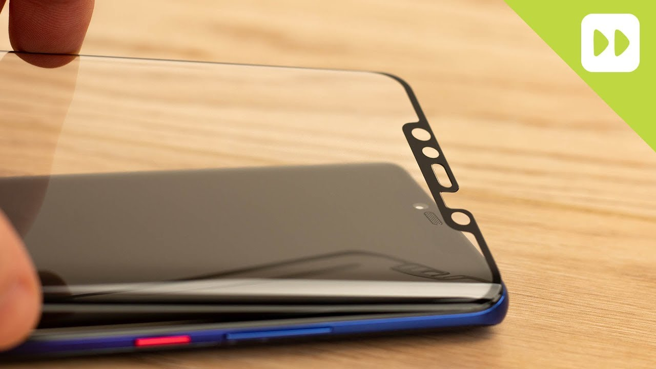 outlet store fef35 a1a6c Olixar Huawei Mate 20 Pro Full Cover Glass Screen Protector Installation  Guide & Review