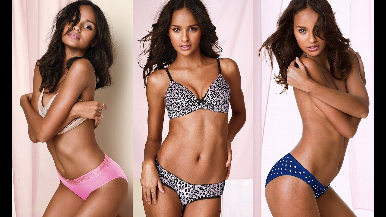 319a9cce34 Gracie Carvalho Shows her Groovy Little Curves in VS Lingerie ...
