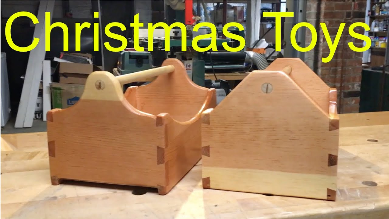 Diy Christmas Toys Wooden Tool Boxes For Kids Toy Tools