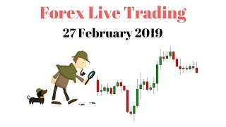 Live Trading Session - Live Forex Market Technical Analysis