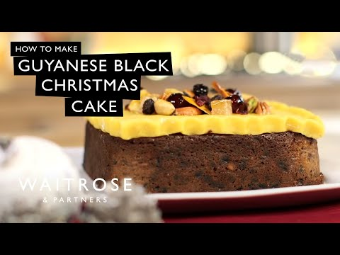 How To Make Black Cake Guyanese Style Funnydog Tv
