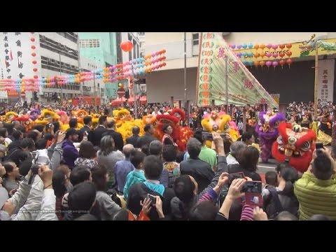 【Hong Kong Walk Tour】The 13th Tai Kok Tsui Temple Fair