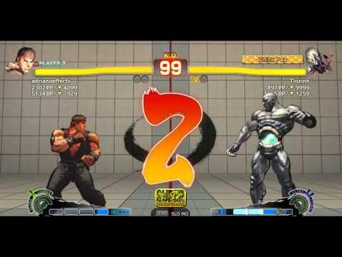 adrianoeffects (Ryu) x Tiozinho (Seth) Brazilian Ranked AE PC Match