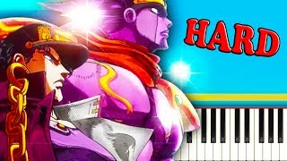 STAND PROUD (JoJo OP 3) - Piano Tutorial