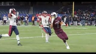 Curtis Warriors score game winning touchdown in PSAL high school football City Championship Game