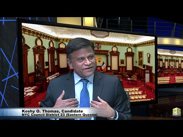 Meet Koshy O. Thomas - Candidate For Democractic Primary - NYC Council District 23