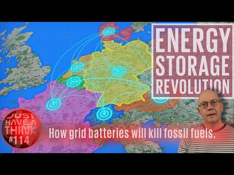 How energy storage will kill fossil fuel.