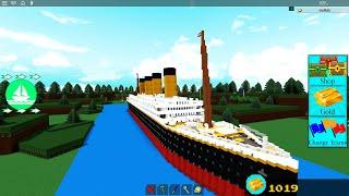 """TITANIC """"build a boat for treasure"""" #1"""
