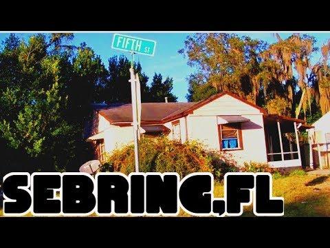 SEBRING,FLORIDA - Residential Hoods Poorest Areas 💯💯💯💯