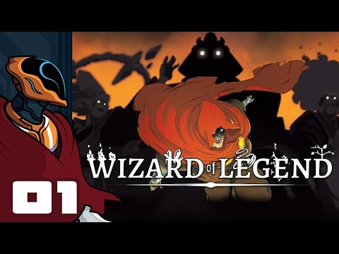 Let's Play Wizard of Legend [Alpha] - PC Gameplay Part 1 - I Am The Rainbow Wizard!