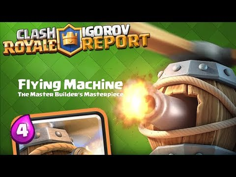IDEMO OSVOJITI FLYING MACHINE! - Clash Royale Report (EP6)