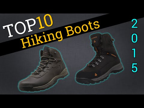 10 Best Hiking Boots 2015