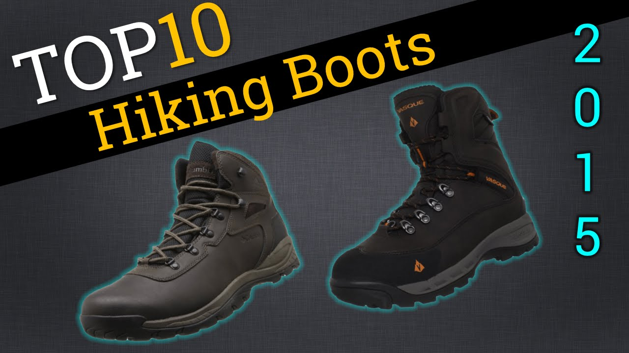 Top 10 Hiking Boots 2015 | Compare Best Hiking Boots - YouTube