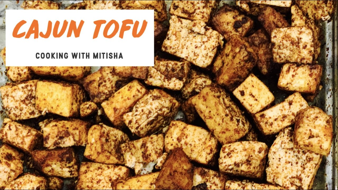 Cajun Tofu Recipe In 6 Minutes Microwave Great For Quick Mealeal Prepping