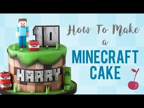 Minecraft Cake Tutorial How To Cherry School Youtube