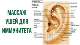 Массаж ушей для иммунитета