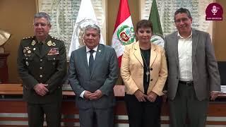 Tema:Firma de Convenio con Ejército del Perú