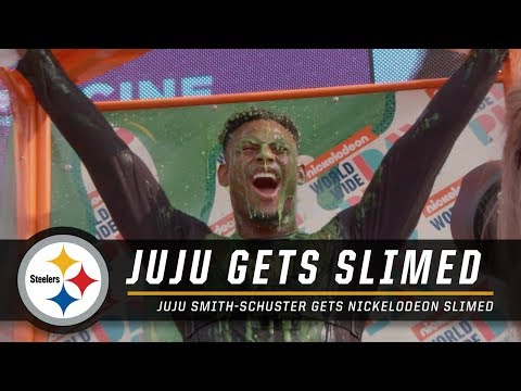 Steelers Nation Radio - JuJu Smith-Schuster Gets Slimed!