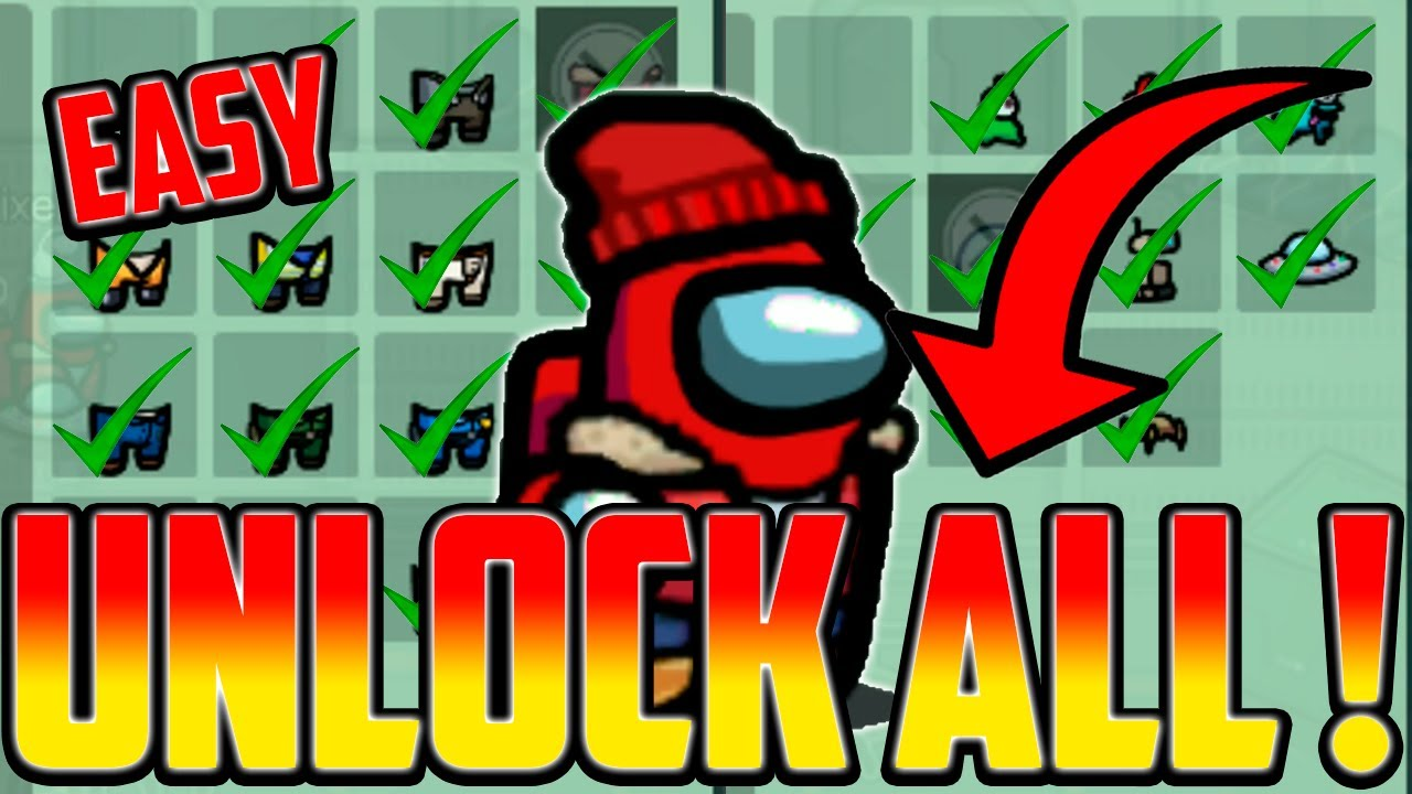 Download How to unlock ALL skins, pets & hats in Among Us! (GLITCH 2021) IOS ANDROID PC