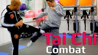 Tai chi combat tai chi chuan - how to deal with kick in tai chi combat. Q9 thumbnail
