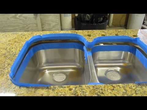 how-to-install-an-undermount-sink-to-a-granite-countertop