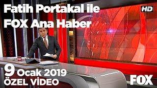ABD'nin Suriye'den çekilmesi yılan hikayesine döndü! 9 Ocak 2019 Fatih Portakal ile FOX Ana Haber