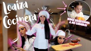HICE ESTA COMIDA PARA MI HIJA  (ASÍ REACCIONÓ) Loaiza Cocinera | Kimberly Loaiza