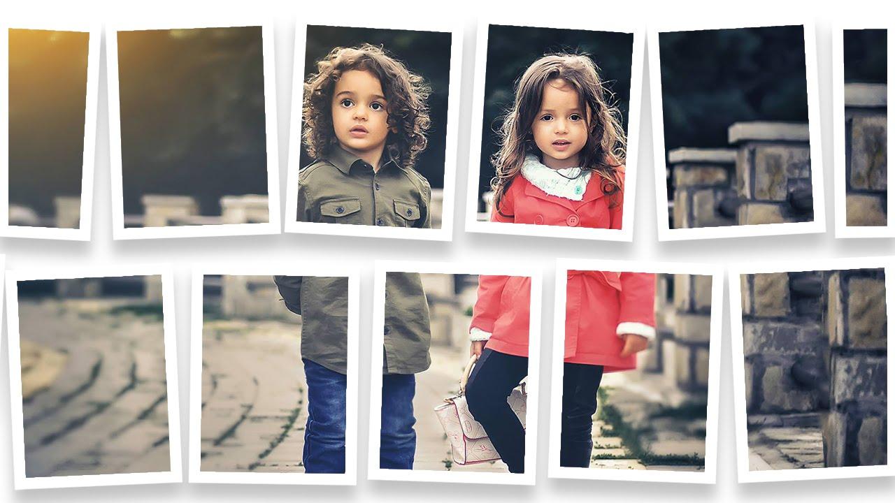 Frame Collage Photo Manipulation Photoshop CC