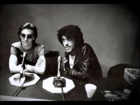 Phil Lynott & Dave Fanning - Interview Early Years Thin Lizzy 1980