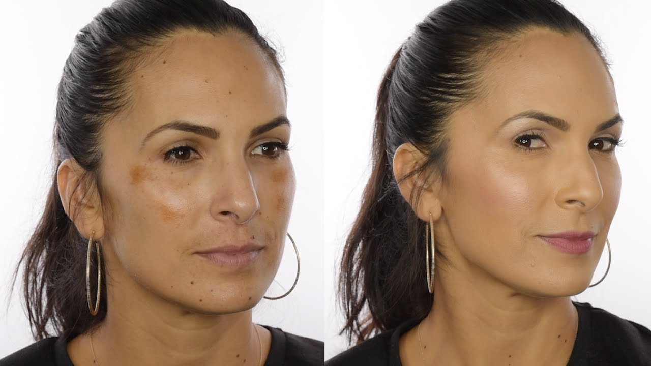 Full Coverage Makeup for Melasma / Dark Spots in One Step - Youngblood Mineral Cosmetics
