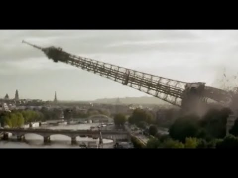 Destruction de la TOUR EIFFEL a Paris par L'incroyable Hulk....