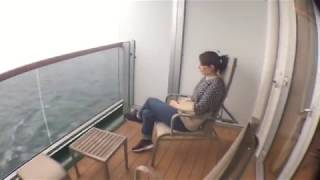 A walk around stateroom C65 onboard P&O cruises Arcadia. This video...