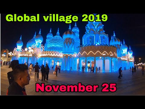 How much is the entrance fee in Global Village Dubai? Explore global village |