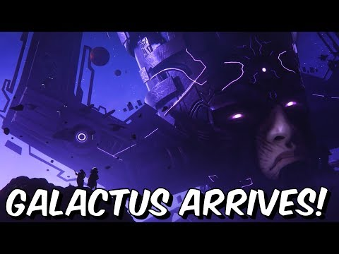 GALACTUS ARRIVES!!! - 5 Year Anniversary Cinematic Trailer Reaction - Marvel Contest Of Champions