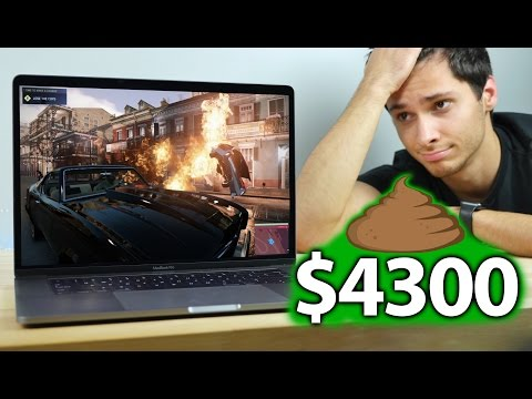 Gaming on a $4300 MacBook Pro
