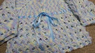 suter bebe 0 3 meses crochet
