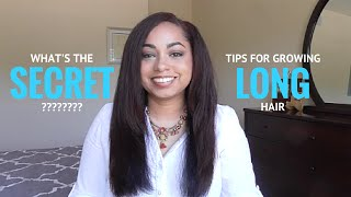 What's the Secret??? Tips for Growing Long, Healthy Natural Hair