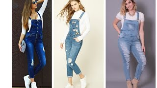 Dungarees/overalls for girls n womens 2018
