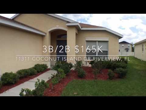 SOLD! 11311 Coconut Island Dr Riverview, FL $165k RIVERCREST