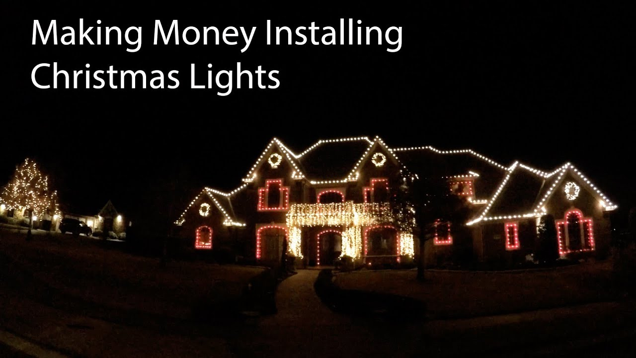 How Much Electricity Do Christmas Lights Use.How Much Can You Make Installing Christmas Lights For Other People