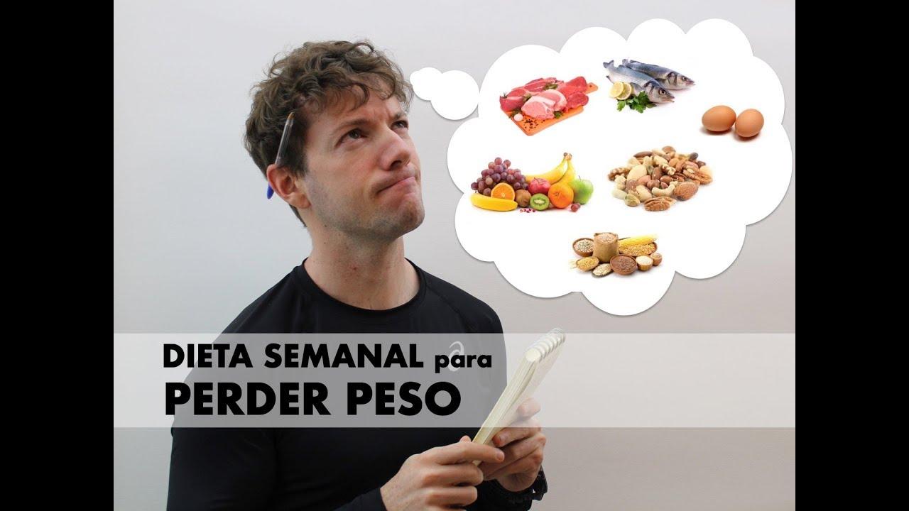 muestra de plan de dieta paleo para bajar de peso