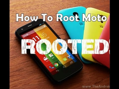 Motorola Moto E - How to Root & Bootloader Unlocking