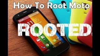 Motorola Moto E - How to Root & Bootloader Unlocking