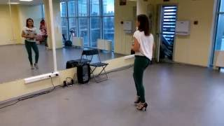 Видео-резюме первой части Женского стиля в Кизомбе с Мариной Семериковой, 17.07.2016г.