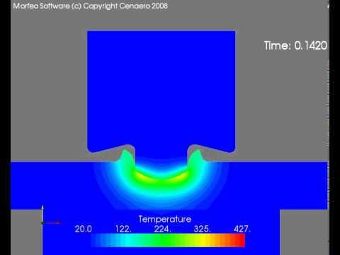 Friction Stir Welding >> Friction Stir Spot Welding simulation - YouTube