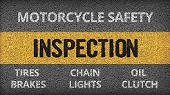 Motorcycle Safety Inspection | WTSC | It's A Fine Line