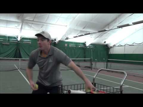 Up Your Cardio With Fast Feed Tennis, Stratton Mountain-Style!
