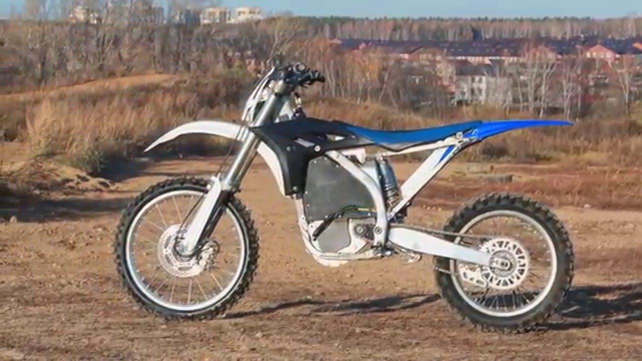 Yamaha Electric Motorcycle >> Custom Electric Bike Yamaha YZ 250 - YouTube